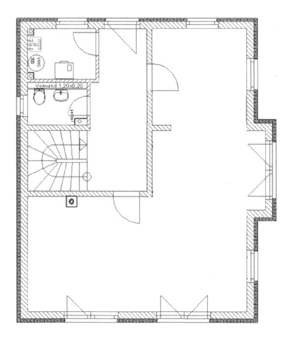 tragende wand erkennen einen grundriss zeichnen und verstehen an der in restoration df the. Black Bedroom Furniture Sets. Home Design Ideas